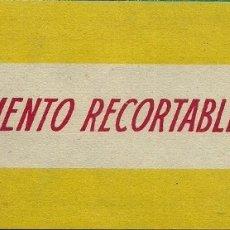 Coleccionismo Recortables: CR046- MARI-PEPA Y LAS GEMELAS Nº 31 -SUPLEMENTO RECORTABLE - MARIA CLARET. Lote 176129387
