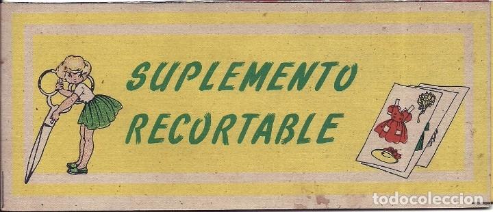CR048 - SUPLEMENTO RECORTABLE MARI-PEPA EN VERANO Nº24 - MARIA CLARET (Coleccionismo - Recortables - Muñecas)