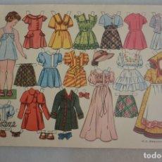 Coleccionismo Recortables: RECORTABLE DE MUÑECAS SUSANA OBSEQUIO FLORITA. Lote 177273328