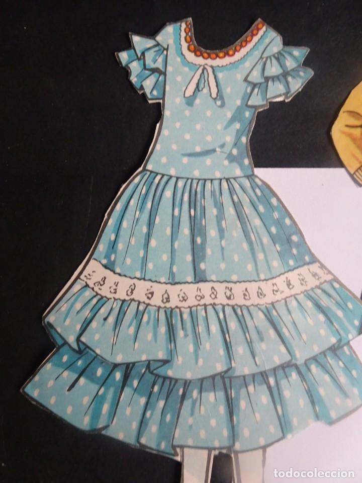 Coleccionismo Recortables: LOTE DE RECORTABLES VARIADOS MUÑECA VESTIDOS, MARISOL, VER FOTOS - Foto 7 - 178677738