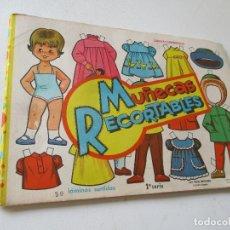 Coleccionismo Recortables: 50 LÁMINAS SURTIDAS MUÑECAS RECORTABLES- 1ª. SERIE- EDT. VASCO AMERÍCANA-BILBAO-19X27 CM.. Lote 179329236