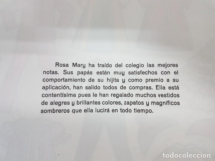 Coleccionismo Recortables: LIBRETA 50 LAMINAS MUÑECAS RECORTABLES / TAMAÑO GIGANTE 43 x 28 CMS./ ORIGINAL 1971 / NUEVO!!! - Foto 8 - 181152865