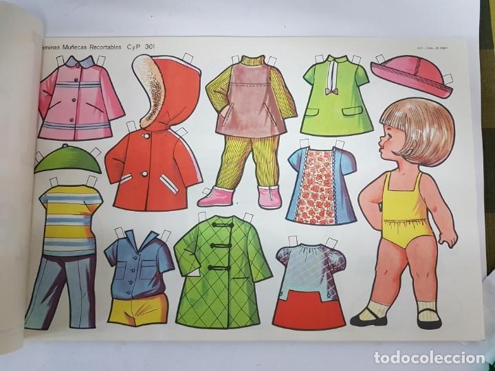 Coleccionismo Recortables: LIBRETA 50 LAMINAS MUÑECAS RECORTABLES / TAMAÑO GIGANTE 43 x 28 CMS./ ORIGINAL 1971 / NUEVO!!! - Foto 9 - 181152865