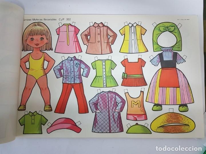 Coleccionismo Recortables: LIBRETA 50 LAMINAS MUÑECAS RECORTABLES / TAMAÑO GIGANTE 43 x 28 CMS./ ORIGINAL 1971 / NUEVO!!! - Foto 10 - 181152865