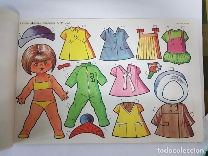Coleccionismo Recortables: LIBRETA 50 LAMINAS MUÑECAS RECORTABLES / TAMAÑO GIGANTE 43 x 28 CMS./ ORIGINAL 1971 / NUEVO!!! - Foto 11 - 181152865