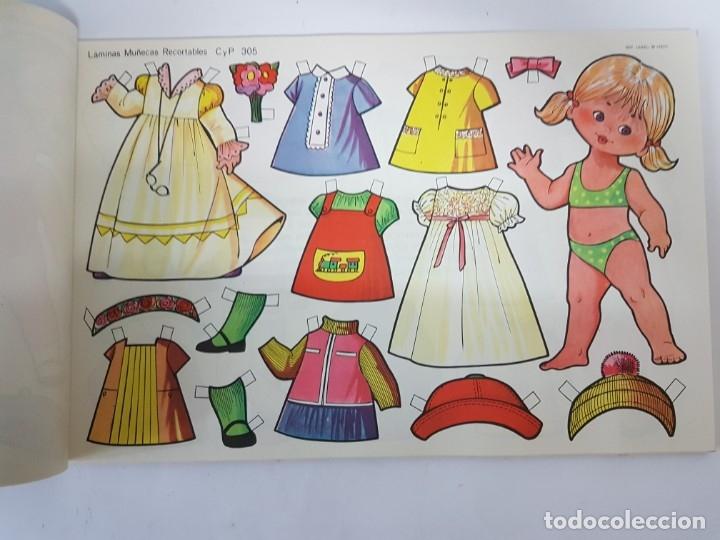 Coleccionismo Recortables: LIBRETA 50 LAMINAS MUÑECAS RECORTABLES / TAMAÑO GIGANTE 43 x 28 CMS./ ORIGINAL 1971 / NUEVO!!! - Foto 13 - 181152865