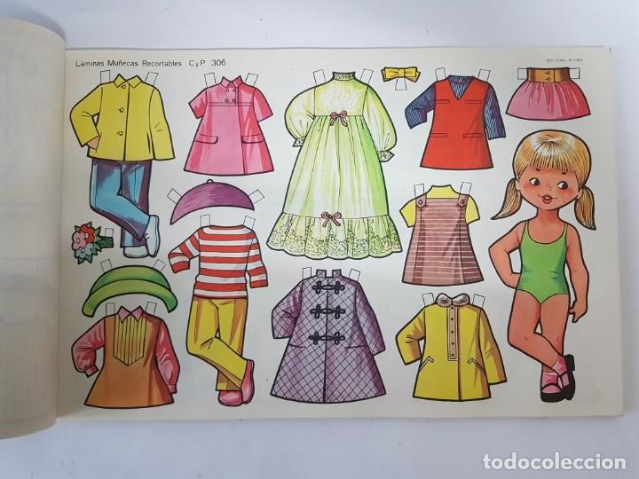 Coleccionismo Recortables: LIBRETA 50 LAMINAS MUÑECAS RECORTABLES / TAMAÑO GIGANTE 43 x 28 CMS./ ORIGINAL 1971 / NUEVO!!! - Foto 14 - 181152865