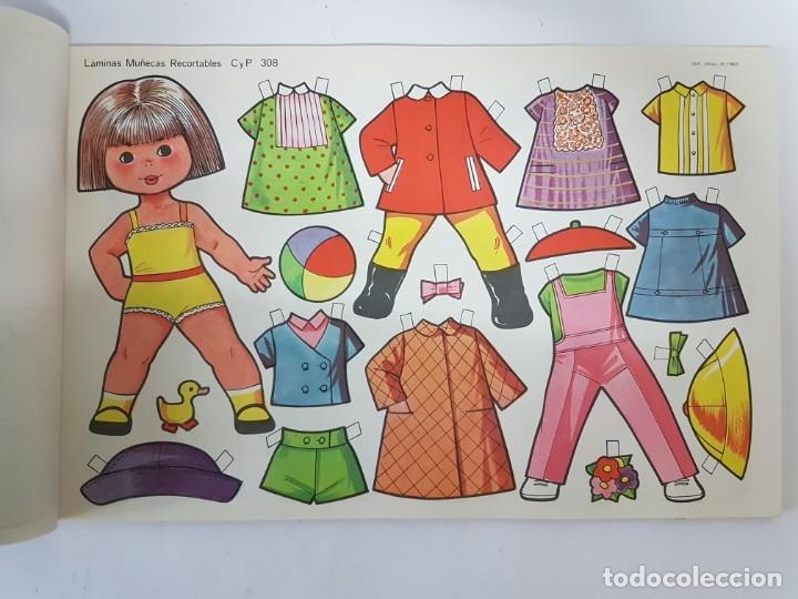 Coleccionismo Recortables: LIBRETA 50 LAMINAS MUÑECAS RECORTABLES / TAMAÑO GIGANTE 43 x 28 CMS./ ORIGINAL 1971 / NUEVO!!! - Foto 16 - 181152865