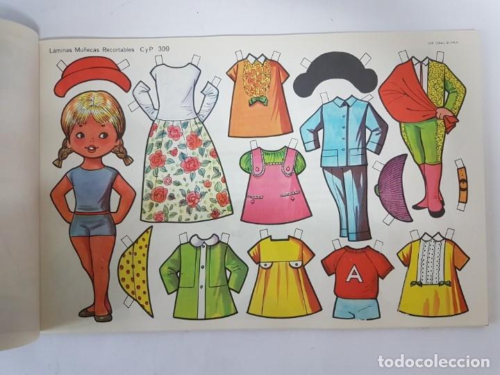 Coleccionismo Recortables: LIBRETA 50 LAMINAS MUÑECAS RECORTABLES / TAMAÑO GIGANTE 43 x 28 CMS./ ORIGINAL 1971 / NUEVO!!! - Foto 17 - 181152865
