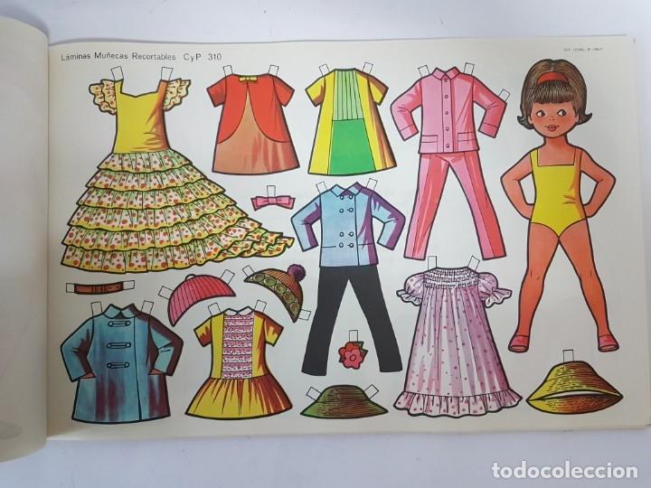 Coleccionismo Recortables: LIBRETA 50 LAMINAS MUÑECAS RECORTABLES / TAMAÑO GIGANTE 43 x 28 CMS./ ORIGINAL 1971 / NUEVO!!! - Foto 18 - 181152865