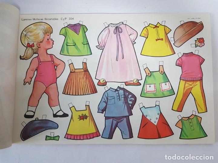 Coleccionismo Recortables: 10 LAMINAS DIFERENTES MUÑECAS RECORTABLES / TAMAÑO GIGANTE 43 x 28 CMS./ ORIGINAL 1971 / NUEVO!!! - Foto 2 - 289835338