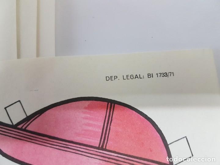 Coleccionismo Recortables: 10 LAMINAS DIFERENTES MUÑECAS RECORTABLES / TAMAÑO GIGANTE 43 x 28 CMS./ ORIGINAL 1971 / NUEVO!!! - Foto 10 - 289835338
