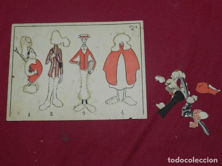 Coleccionismo Recortables: (M) RECORTABLE DE LA LOLA ANGLADA - EL VESTUARI D'EN PATUFET, COMPLETO Y MUY DIFICIL - Foto 3 - 181467557