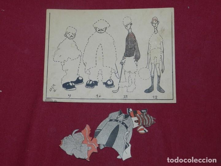 Coleccionismo Recortables: (M) RECORTABLE DE LA LOLA ANGLADA - EL VESTUARI D'EN PATUFET, COMPLETO Y MUY DIFICIL - Foto 7 - 181467557