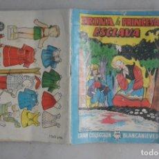 Coleccionismo Recortables: RECORTABLE BOMBON GRISELDA, CUENTO IRINA PRINCESA ESCLAVA. Lote 182141727