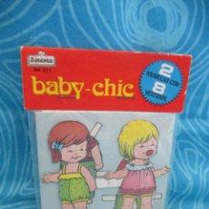 Coleccionismo Recortables: BABY CHIC, RECORTABLE BEASOA, . Lote 182240981