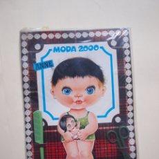 Coleccionismo Recortables: RECORTABLE MODA 2000 Nº 4 - MUÑECA ANNE - ORIGINAL DE KIOSKO CON PELO, TIJERAS Y PEINE - BEASCOA. Lote 182824441