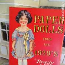 Colecionismo Recortáveis: RECORTABLE MUÑECAS VINTAGE - PAPER DOLLS FROM THE 1920'S - READY TO CUT OUT AND DRESS. Lote 183257040