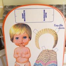 Coleccionismo Recortables: RECORTABLE MUÑECAS VINTAGE - BABY MOCOSETE - TOQUILLA LANA. Lote 183263342