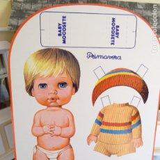 Coleccionismo Recortables: RECORTABLE MUÑECAS VINTAGE - BABY MOCOSETE - PRIMAVERA. Lote 183263463