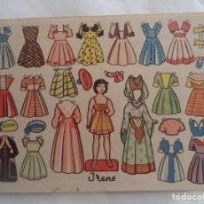 Coleccionismo Recortables: IRENE OBSEQUIO DE FLORITA. Lote 183675277