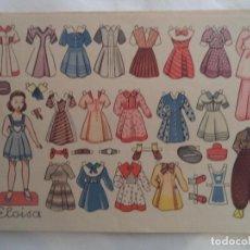 Coleccionismo Recortables: ELOISA OBSEQUIO DE FLORITA. Lote 183675431