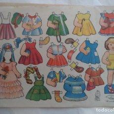 Coleccionismo Recortables: CELIA OBSEQUIO DE FLORITA. Lote 183676126
