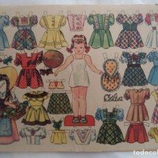 Coleccionismo Recortables: CELIA OBSEQUIO DE FLORITA. Lote 183676293
