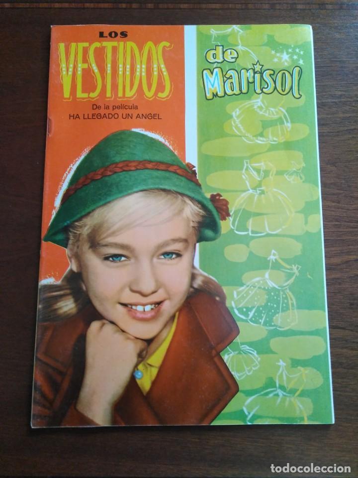 MARISOL Y SUS VESTIDOS LIBRITO DE MUÑECAS RECORTABLES (Coleccionismo - Recortables - Muñecas)