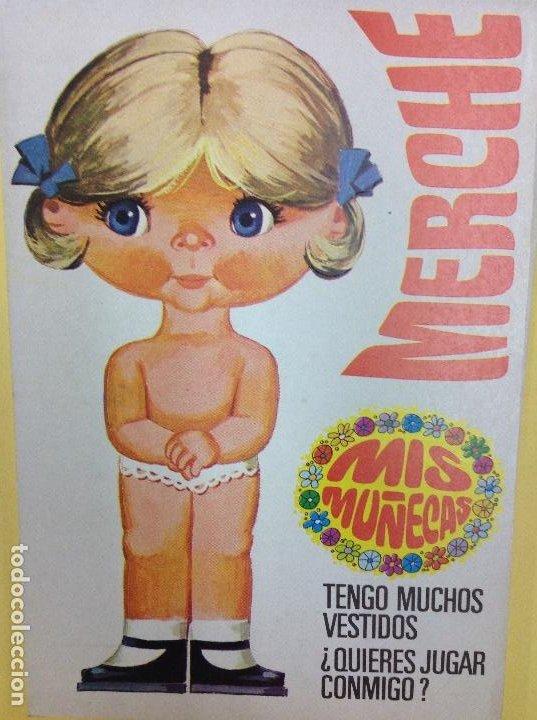 MARIQUITA RECORTABLE MERCHE (Coleccionismo - Recortables - Muñecas)