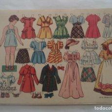 Coleccionismo Recortables: RECORTABLE SUSANA OBSEQUIO DE FLORITA. Lote 183893197