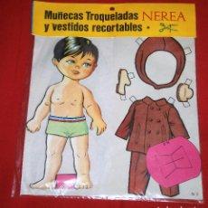 Coleccionismo Recortables: BLISTER MUÑECAS TROQUELADAS Y VESTIDOS RECORTABLES * NEREA - N° 2 * EDICIONES BOGA - AÑOS 70 - NUEVO. Lote 184053567