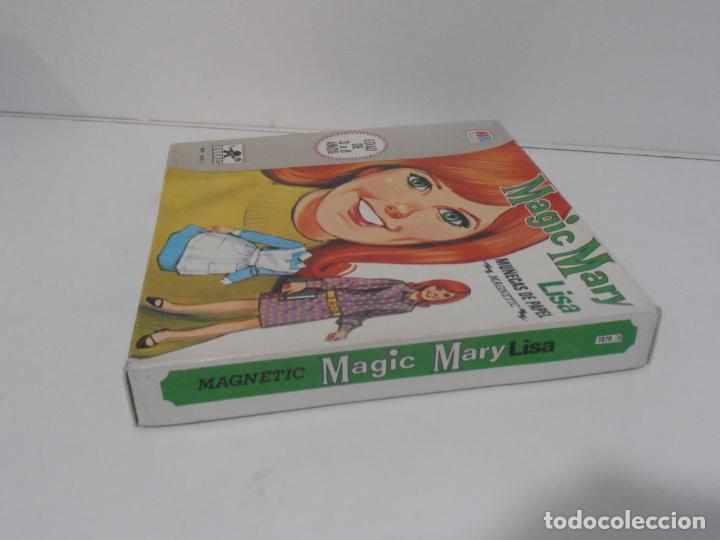 Coleccionismo Recortables: MAGIC MARY LISA, JUGUETES BORRAS, MAGNETIC MUÑECAS DE PAPEL EN CAJA COMPLETO AÑOS 70 - Foto 5 - 185332973