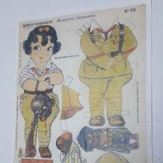 Coleccionismo Recortables: FACSIMIL ABC 2009 DE MARIQUITA LEGIONARIA RECORTABLE DE LA EDICION DE 192E. Lote 185929887