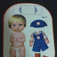 Coleccionismo Recortables: RECORTABLE BABY MOCOSETE MODELO TEJANO. Lote 187094711