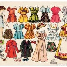 Coleccionismo Recortables: LAMINA RECORTABLES MUÑECAS EDITORIAL TRESTORRES. SUSANA AÑOS 50 - 60 FLORITA. Lote 188693130
