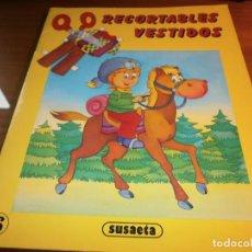 Coleccionismo Recortables: RECORTABLES VESTIDOS Nº 6 - EDT. SUSAETA, 1990.. Lote 189984681
