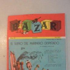 Coleccionismo Recortables: REVISTA NIÑAS BAZAR Nº 13, CON RECORTABLE DE PIPO Y JUEGO BAZAR. Lote 190319202