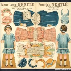 Colecionismo Recortáveis: RECORTABLE DE MUÑECAS: NESTLE (20 X 19 CMS). Lote 191523572