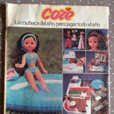 Coleccionismo Recortables: ANTIGUA PUBLICIDAD DE MUÑECA CORE. Lote 192139805
