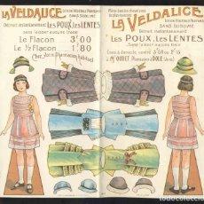 Colecionismo Recortáveis: RECORTABLE DE MUÑECAS: LA VELDALICE (21 X 19 CMS). Lote 193272695