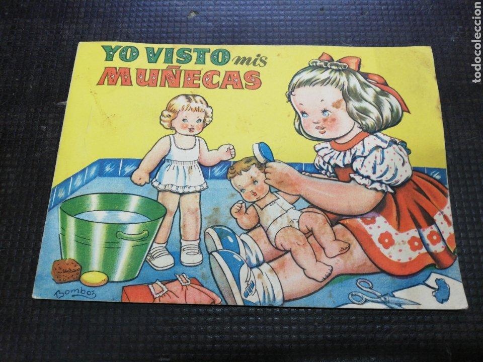 YO VISTO MIS MUÑECAS, COLECCIÓN MIS MUÑECAS, EDITORIAL BRUGUERA (Coleccionismo - Recortables - Muñecas)