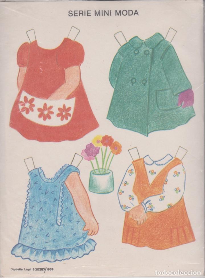 Coleccionismo Recortables: EDICIONES CON- BEL -- SERIE MINI MODA - Foto 2 - 194217902