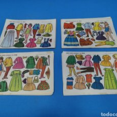 Coleccionismo Recortables: LÁMINAS MUÑECAS RECORTABLES EVA. Lote 194563928
