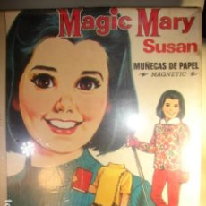 Coleccionismo Recortables: SUSAN MUÑECAS DE PAPEL MAGNÉTIC MAGIC MARY - BORRAS CON LICENCIA MB. Lote 194645067
