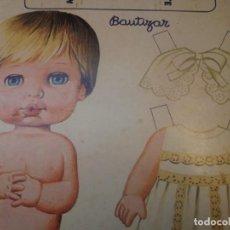 Coleccionismo Recortables: BABY MOCOSETE -CARTÓN RECORTABLE. Lote 194879330