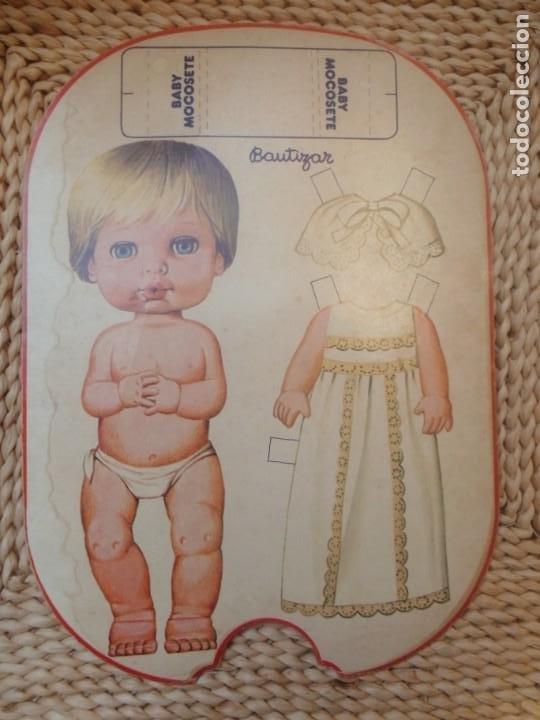 Coleccionismo Recortables: BABY MOCOSETE -CARTÓN RECORTABLE - Foto 2 - 194879330