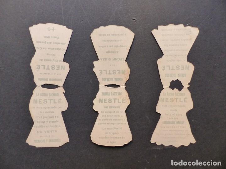 Coleccionismo Recortables: ANTIGUO RECORTABLE NIÑA - AÑOS 1930-40 - TROQUELADO - 4 PIEZAS VER FOTOS - Foto 5 - 194944176