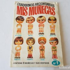 Coleccionismo Recortables: CUADERNOS RECORTABLES - MIS MUÑECAS, Nº 1. Lote 194952272
