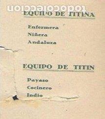 Coleccionismo Recortables: Tintin y Tintina nº 2. Ediciones Barsal Barcelona - Foto 10 - 194956618